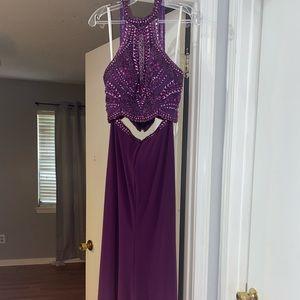 Eggplant purple colored Prom Dress Size 6.